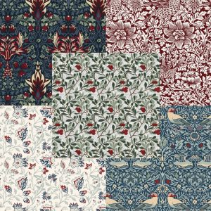 V&A William Morris 'Winter Berry' Collection